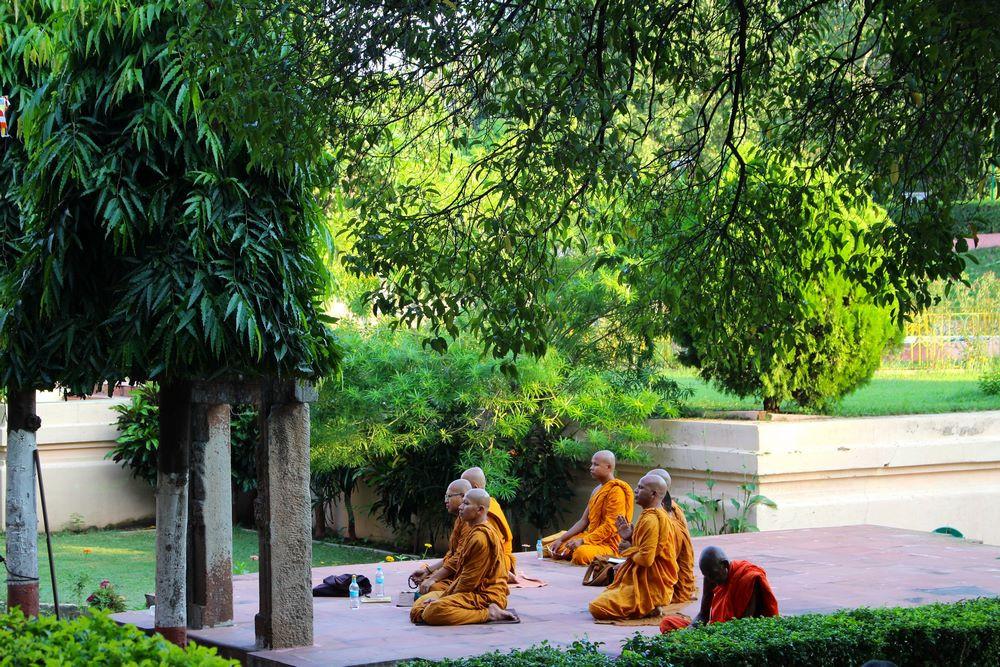 Bodhgaya - templede la Mahabodhi