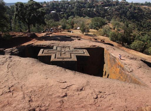 la cité Monastique de Lalibela en Ethiopie
