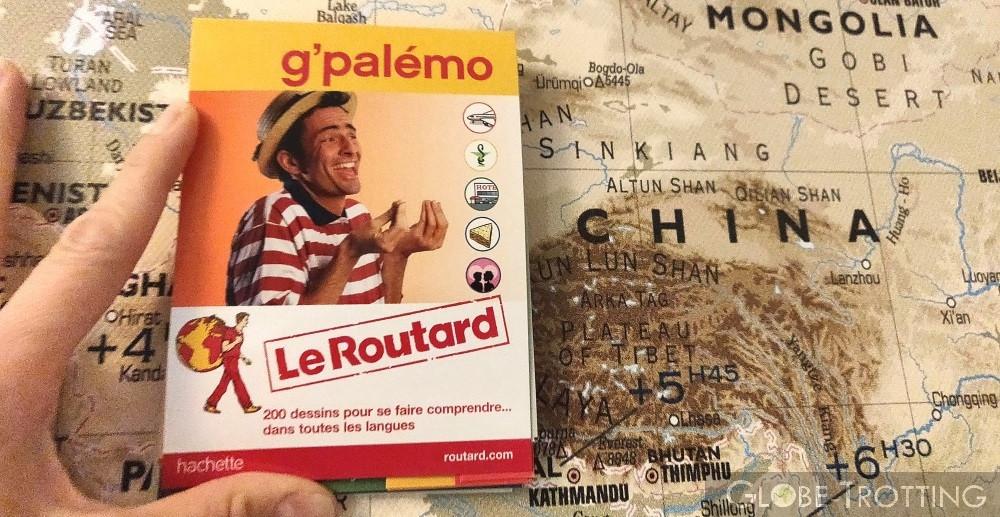 Guide G Palemo parler avec des dessins