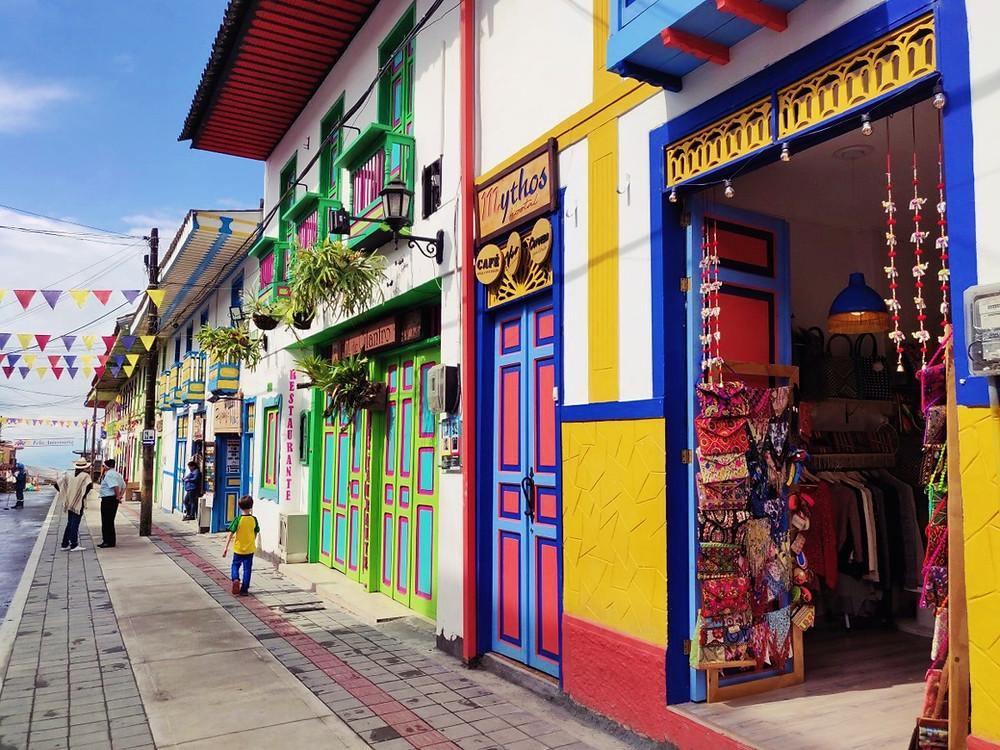 Rue Filandia Colombie