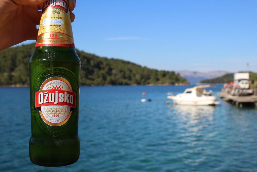Bière croate Ozujsko Croisière