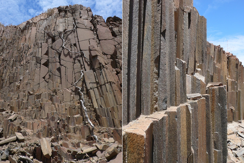 Damaraland organ pipes