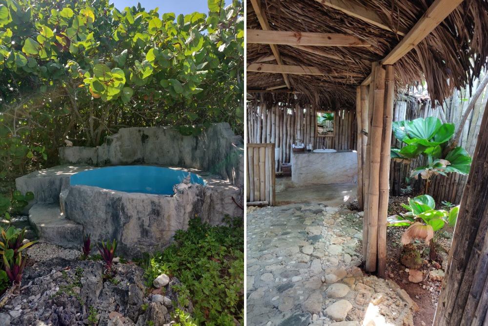 Jardin hutte