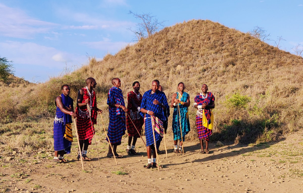 danse maasai lodge