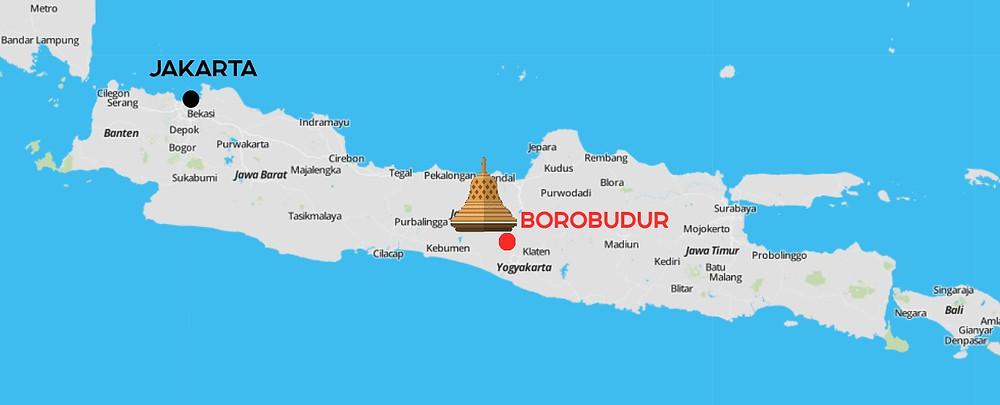 Carte Candi Borobudur