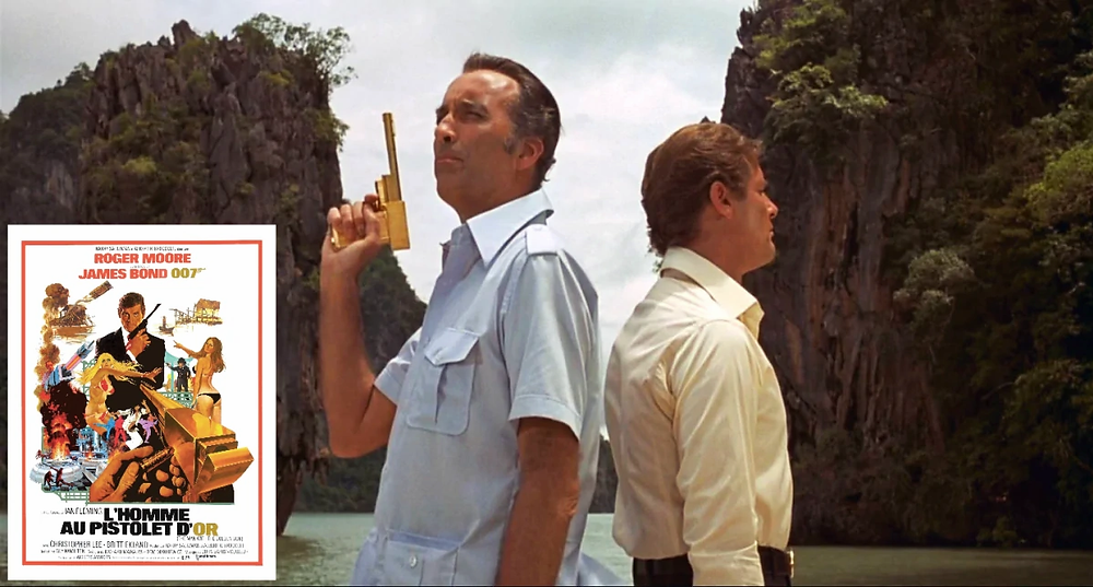 L'Homme au pistolet d'or james bond thailande Roger Moore