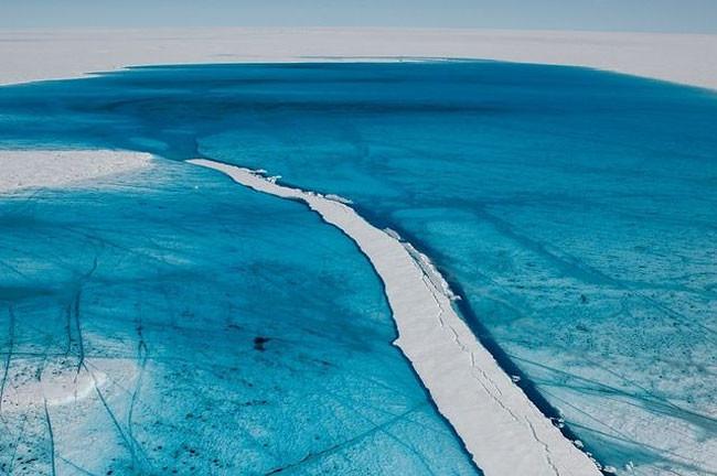 Les canyons de glace du Groenland
