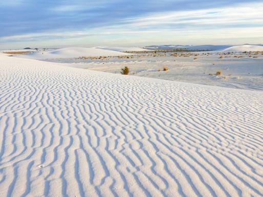 Le désert White Sands au Nouveau-Mexique, Etats Unis