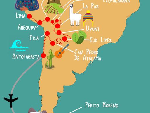 45 Jours en Amérique du Sud : Pérou, Bolivie, Chili et Argentine