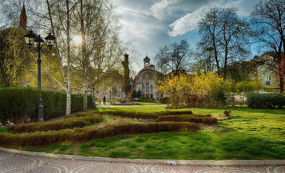 ville sofia visiter jardins publics