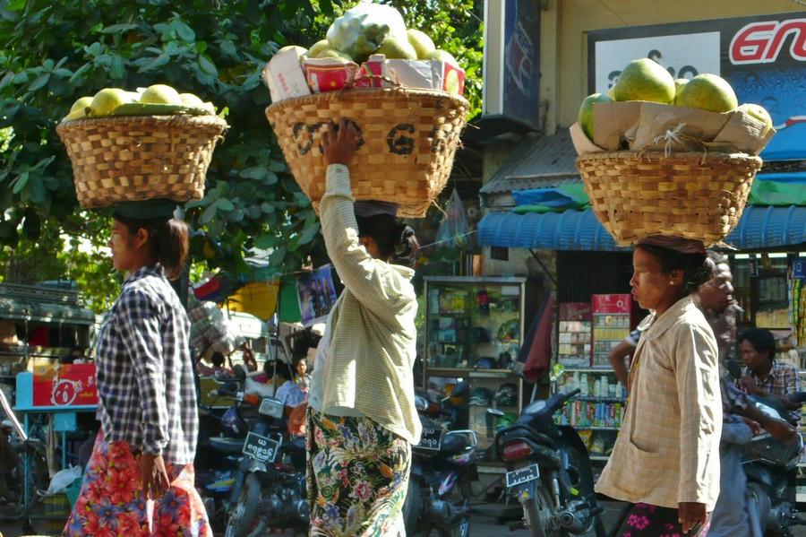 Mandalay marché Myanmar