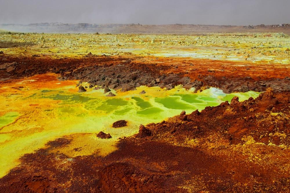 Dallol ethiopie volcan