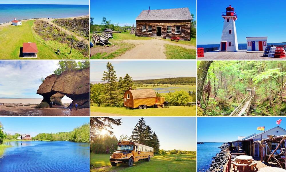 paysages du Nouveau-Brunswick canada