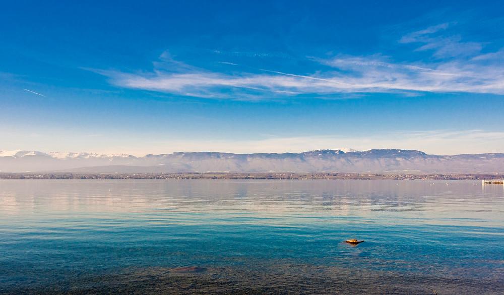 paysage Lac de Genève