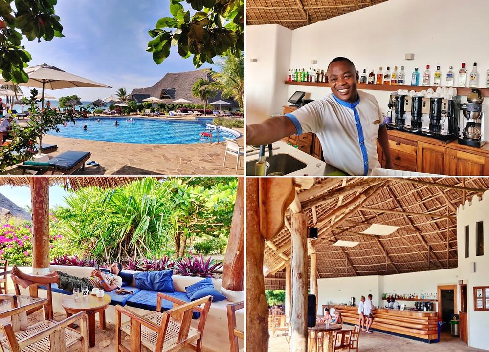 hôtel sur la plage de Nungwi