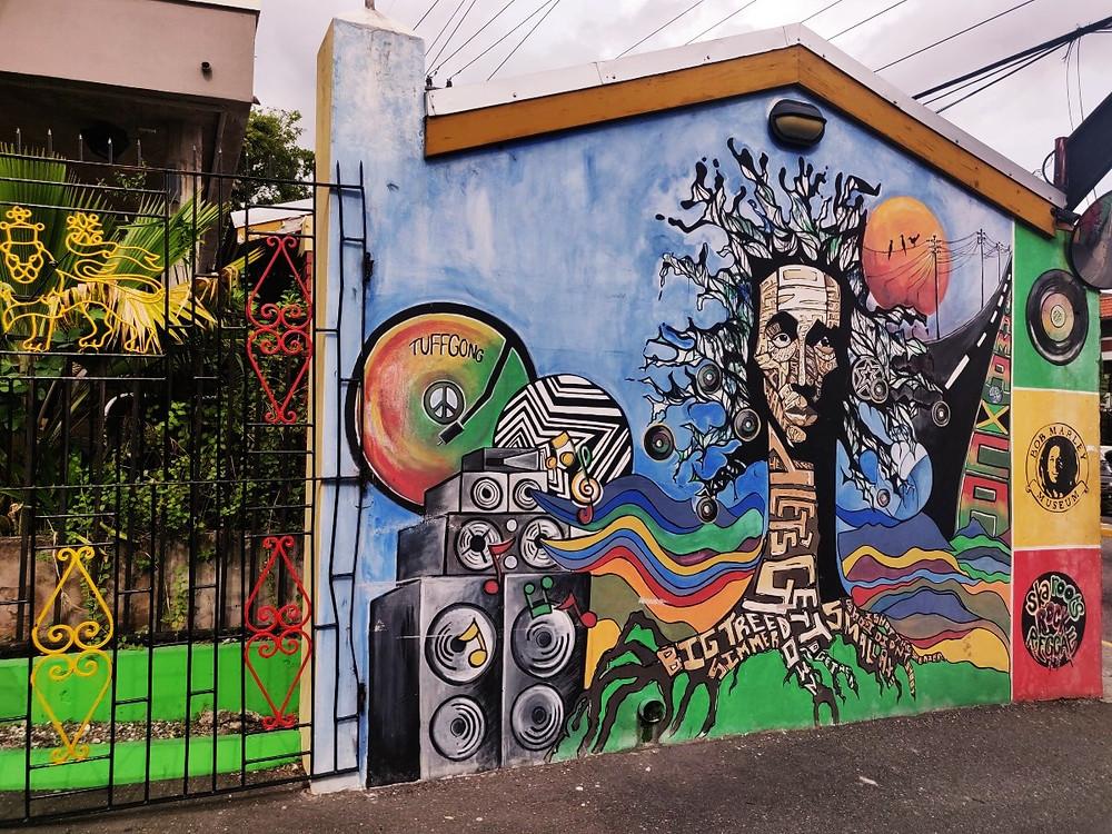 Entrée Bob Marley Museum Kingston Jamaïque