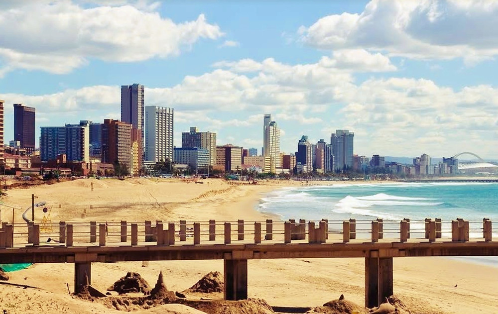 Golden Mile Beach Durban