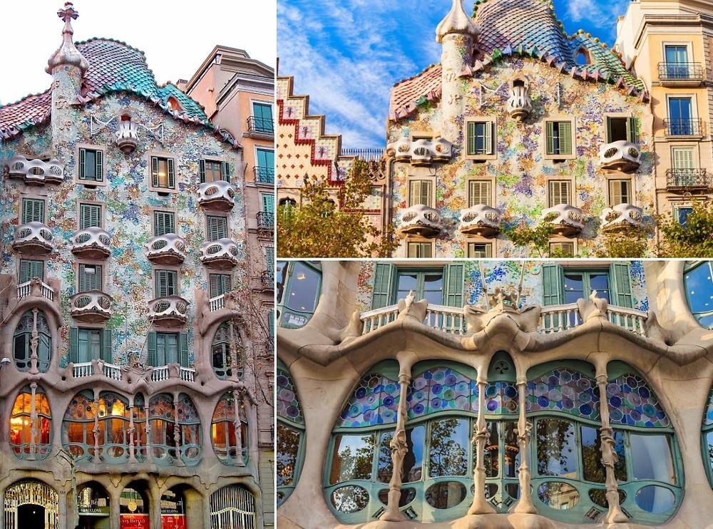 Barcelone points d'intérêt Casa Batllò