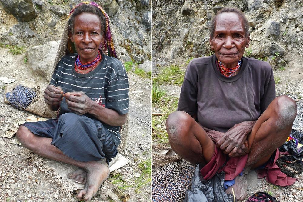 Vallée de Baliem femmes papou
