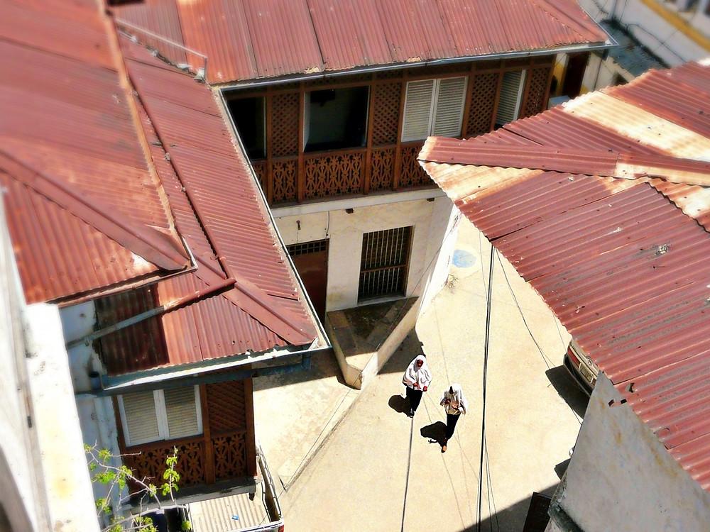 vue depuis hotel stone town