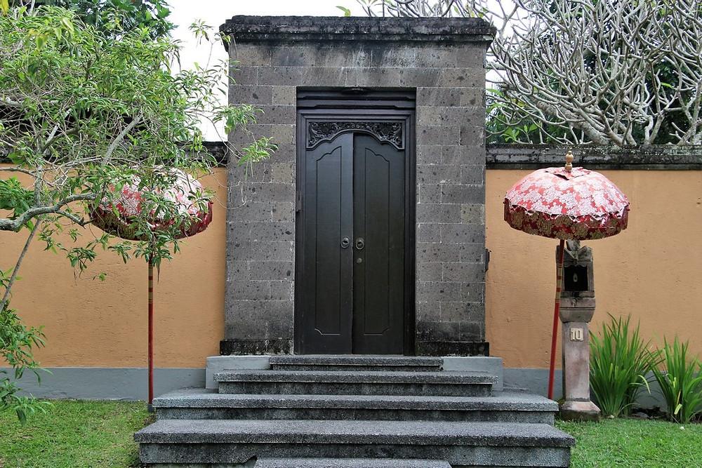 villa bali porte d'entrée ubud