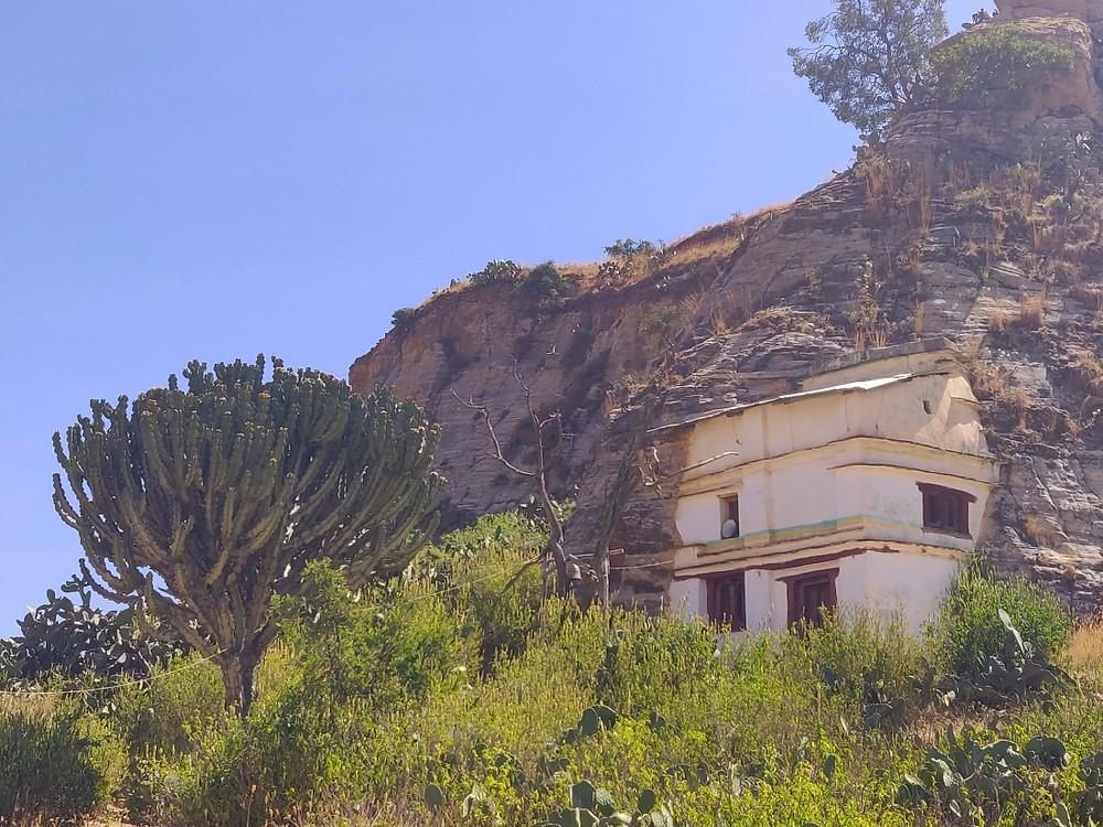 églises montagnes Mekele