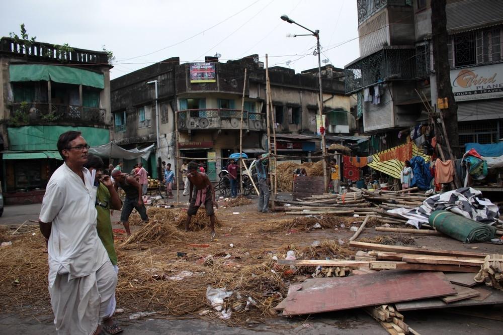 Temple Kali Ghat rues Kolkata
