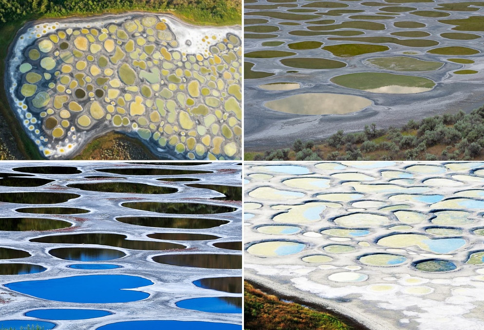 spotted lake canada