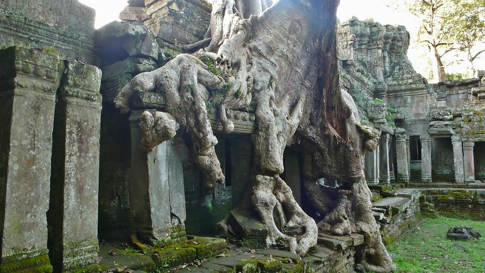 Le Temple Preah Khan - Voyage Angkor Cambodge