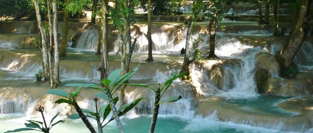 chutes Tad Saé - Laos