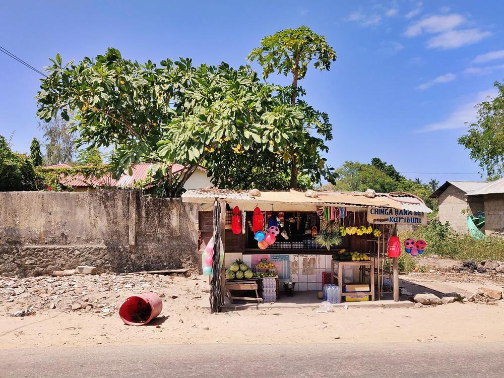 village de Matemwe