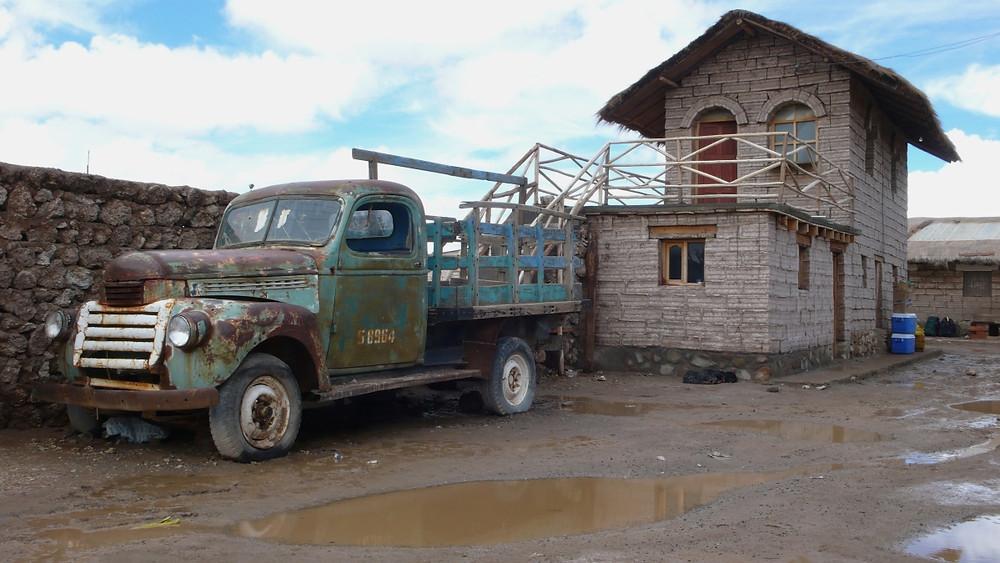La ville d'Uyuni en Bolivie