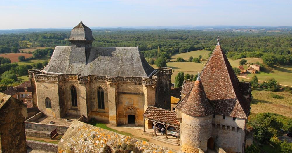 Biron Château Périgord pourpre