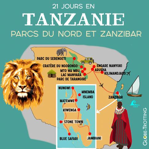 3 semaines en Tanzanie et à Zanzibar