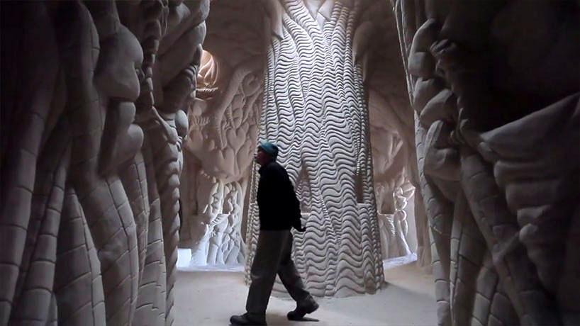Ra Paulette grottes sculptées