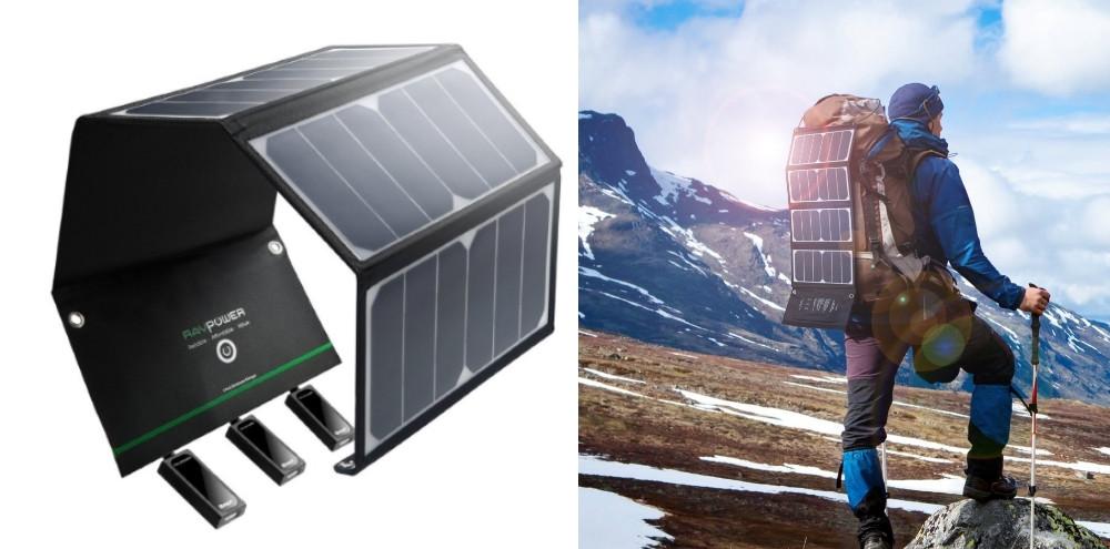 petit chargeur solaire voyage