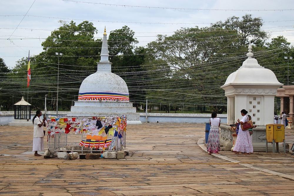 Anuradhapura Dagoba de Mirisavatiya