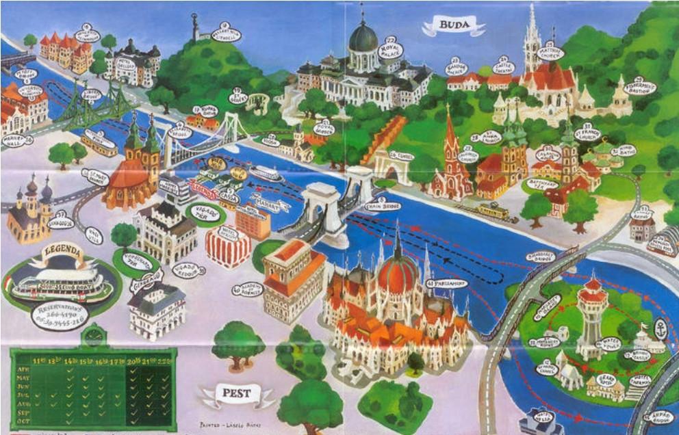 Carte de Budapest