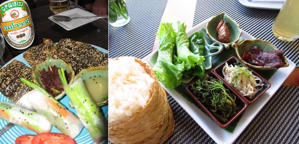 laos Cuisine locale