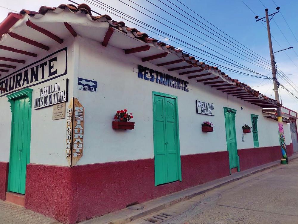 rue Zapatoca Colombie