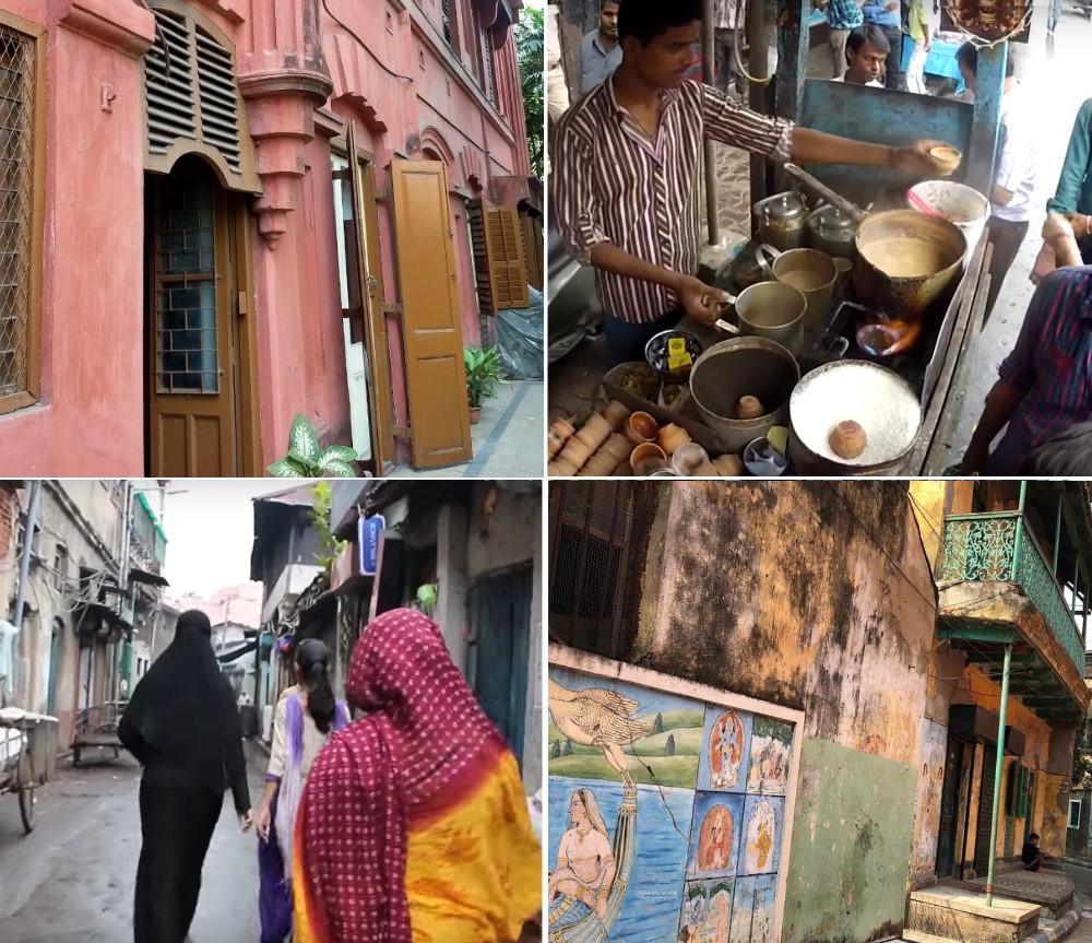Statues religieuses rues de Calcutta