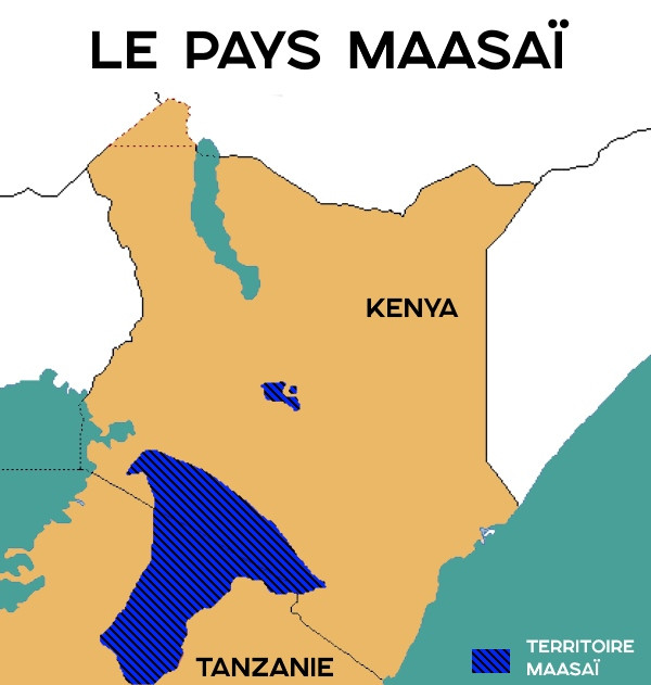 pays maasai territoire