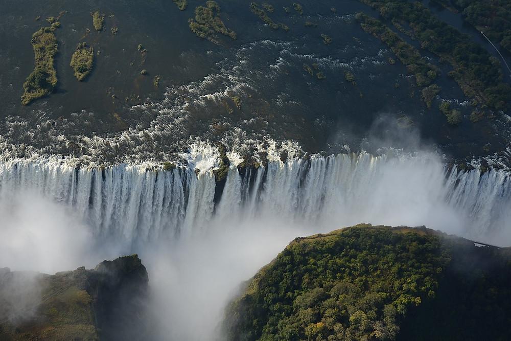 Chutes Victoria Zambie Zimbabwe