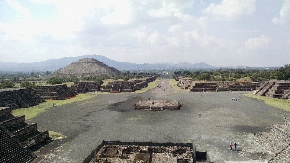 excursion à Teotihuacan