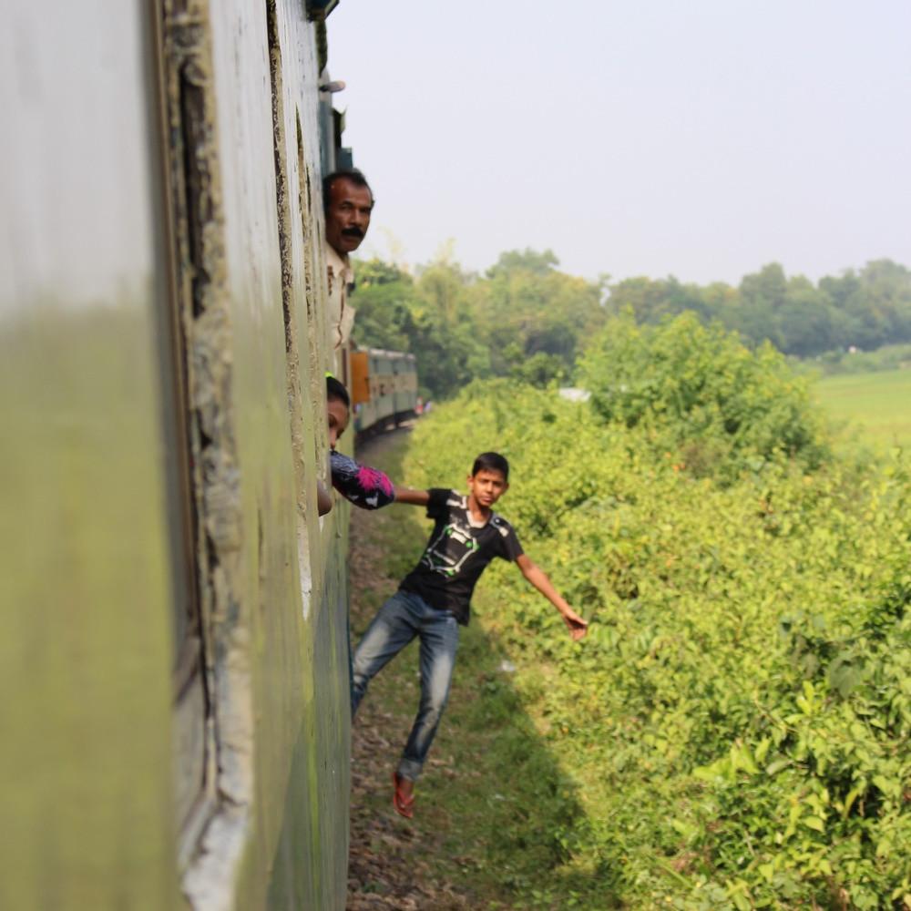 Voyager en Train Bangladesh Dhaka Srimangal