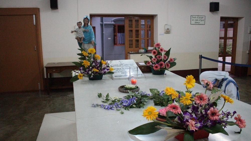 tombe de Mère Teresa Calcutta