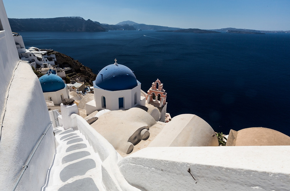 Paysage Santorin Grèce