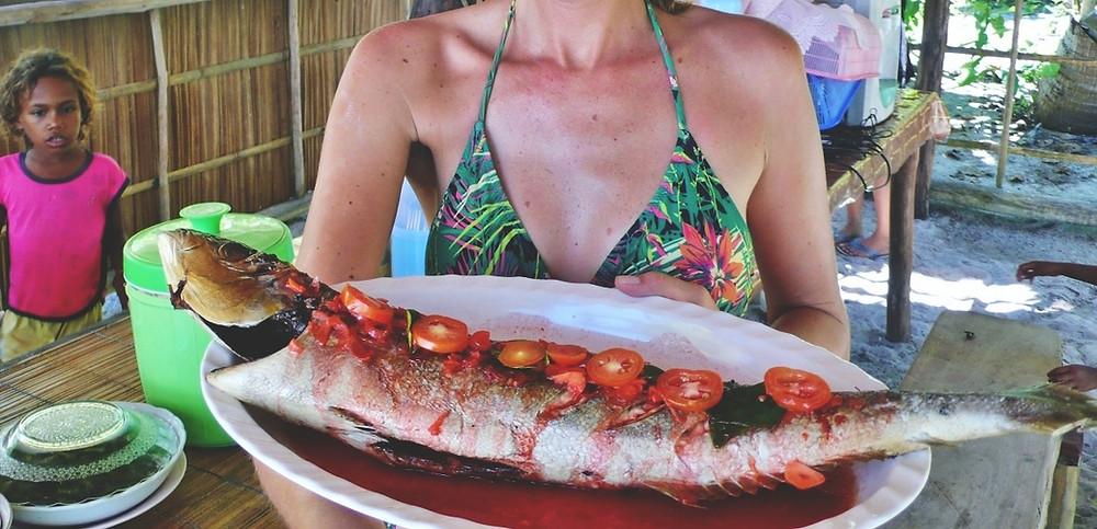 cuisine poisson Raja Ampat