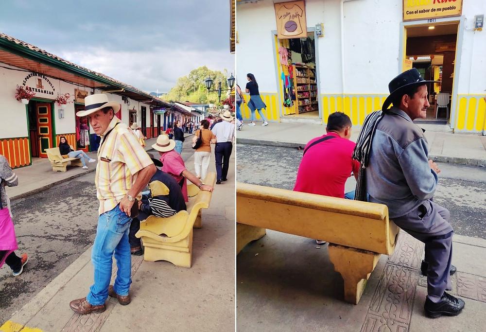 Cowboy Salento en Colombie
