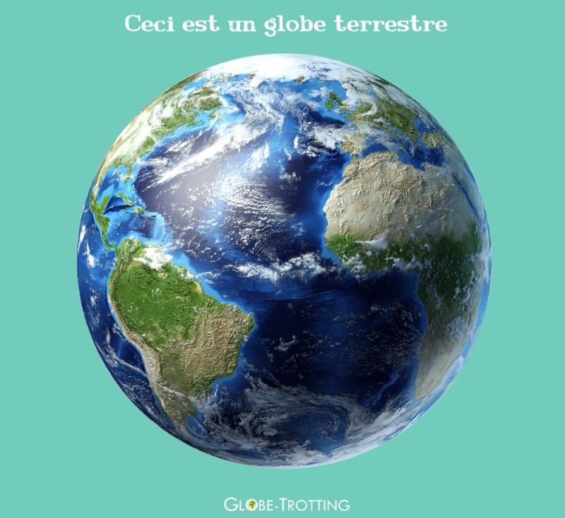 différence mappemonde planisphère globe terrestre